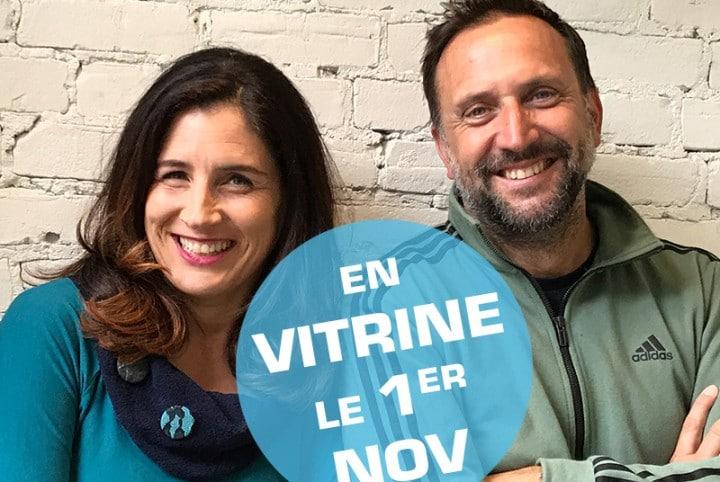 Isabelle Marjorie Tremblay et Jean-Michel Dufaux Vitrine