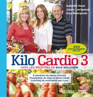 Conférenciers Québec, Formation, Motivation et Team Building - Formax - Kilo Cardio : Un 3e tome pour le trio santé!