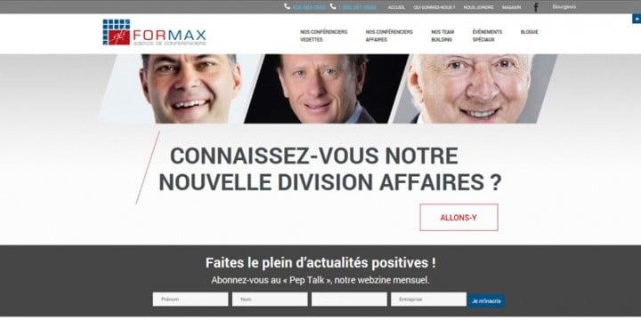 Conférenciers Québec, Formation, Motivation et Team Building - Formax - Pour mieux vous servir...