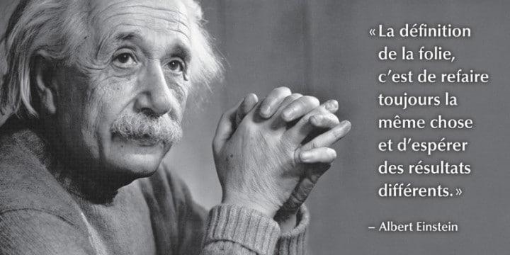Conférenciers Québec, Formation, Motivation et Team Building - Formax - La folie, selon Einstein.
