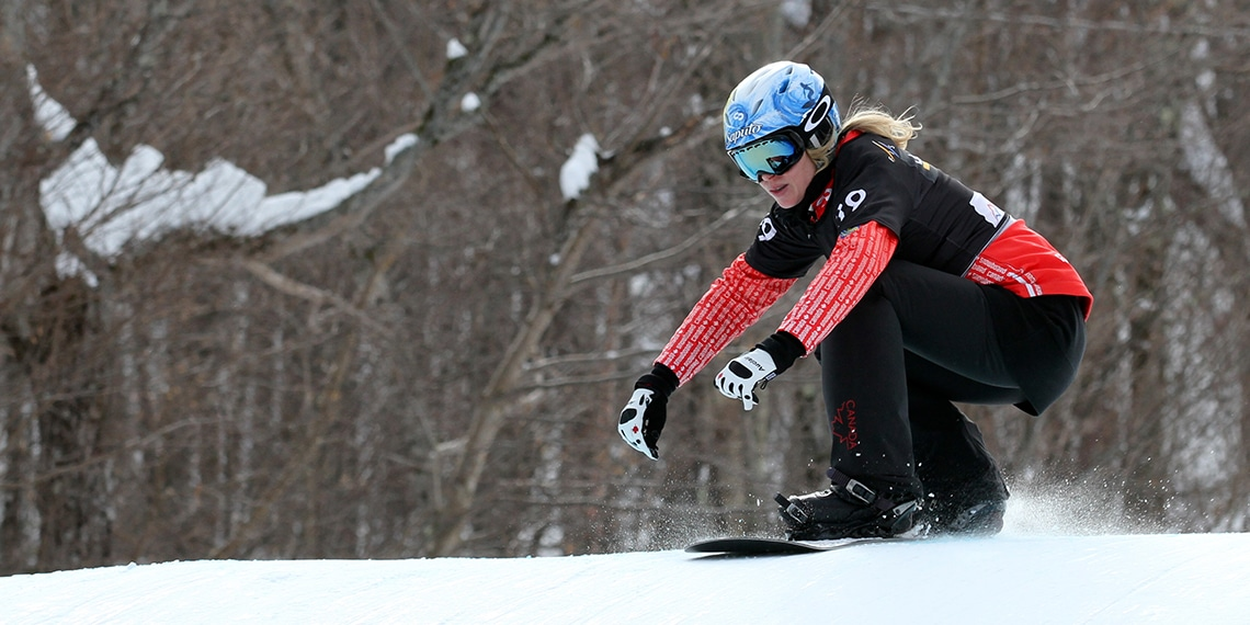 Conférenciers Québec, Formation, Motivation et Team Building - Formax - Dominique Maltais - Conférencière, planchiste en Snowboardcross et double médaillée olympique et pompier